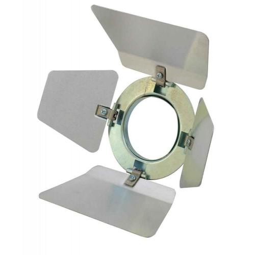 EUROLITE Barndoors PAR-16 Spot silver