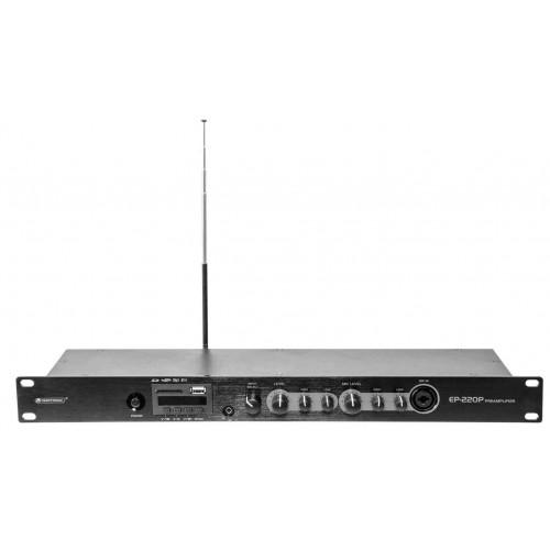 OMNITRONIC EP-220P Przedwzmacniacz z odtwarzaczem MP3