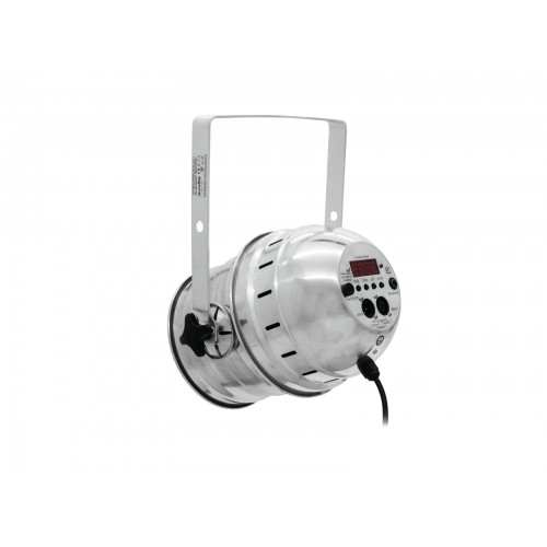 EUROLITE LED PAR-56 COB RGB 60W silwer