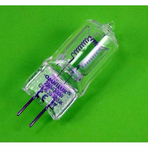 OMNILUX 230V/300W GX-6.35 75h 3200K