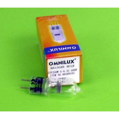 OMNILUX EHJ 24V/250W G-6.35 500h 3000K