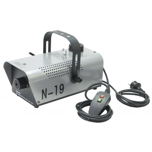 EUROLITE N-19 Smoke Machine silver