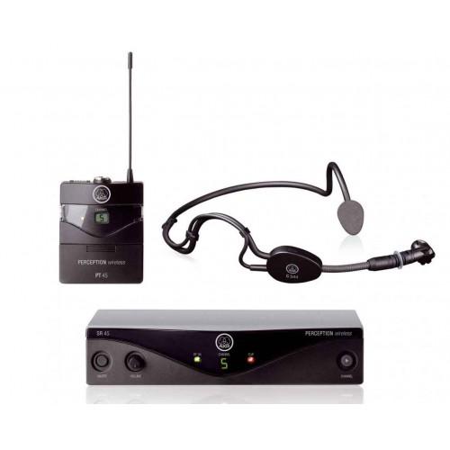 AKG WMS 45 Sport Set, mikrofon bezprzewodowy nagłowny