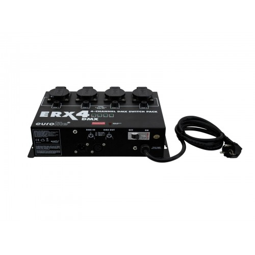 EUROLITE ERX-4 DMX Switch Pack
