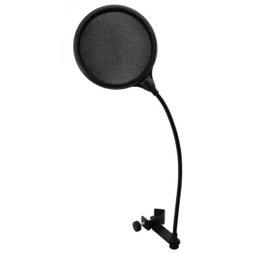 DSH-mikrofonowy Poplitr czarny 130mm