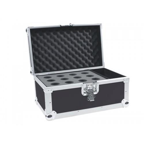 Case na 12 mikrofonów czarny