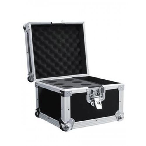 Case na 6 mikrofonów czarny