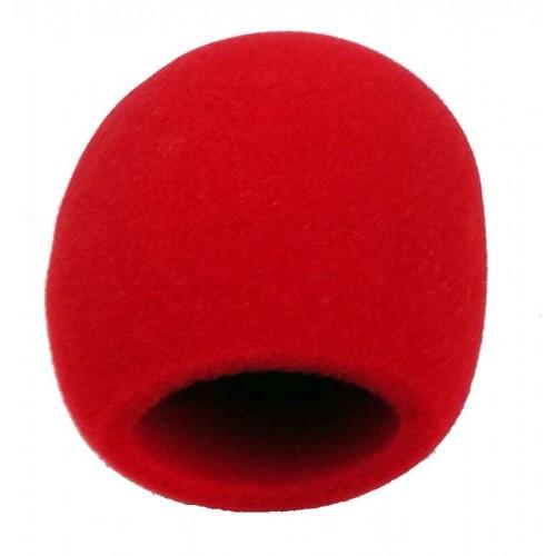 Gąbka mikrofonowa czerwona