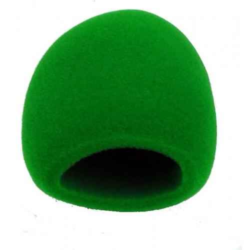 Gąbka mikrofonowa zielona