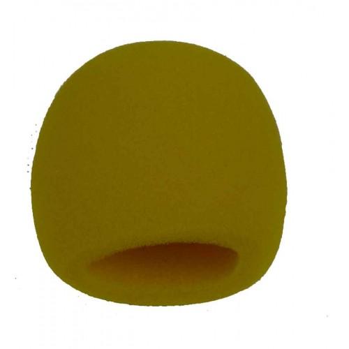 Gąbka mikrofonowa zółta