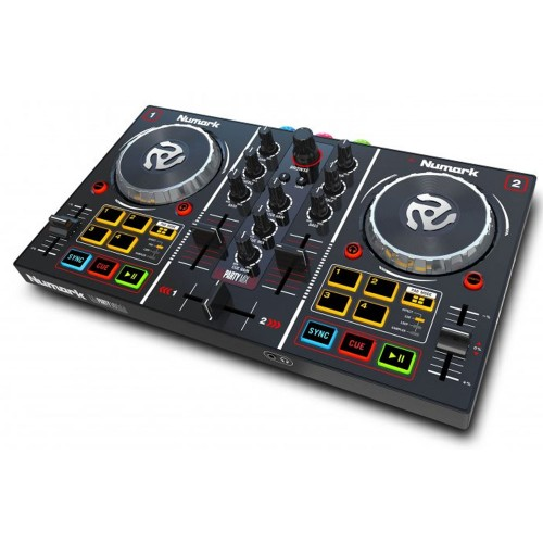 Numark Party Mix kontroler DJ MIDI/USB LED
