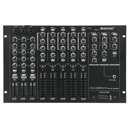 CM-5300 Club Mixer Profesjonalny 5-kanałowy mikser klubowy