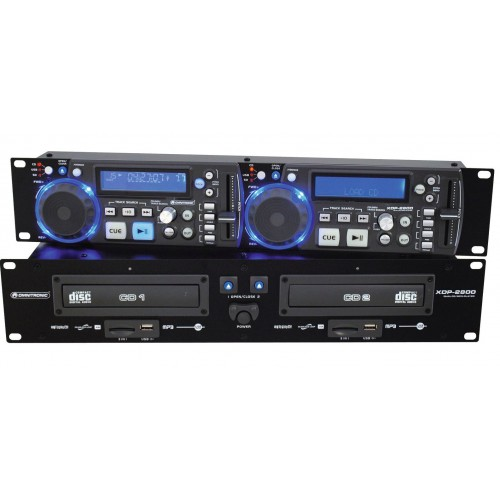 XDP-2800 Dual CD/MP3 Player