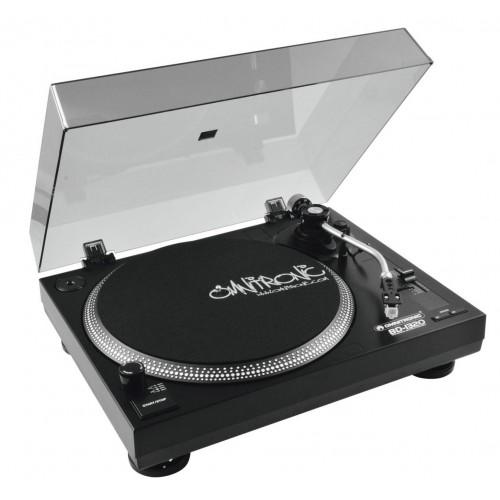 Gramofon paskowy BD-1320 czarny