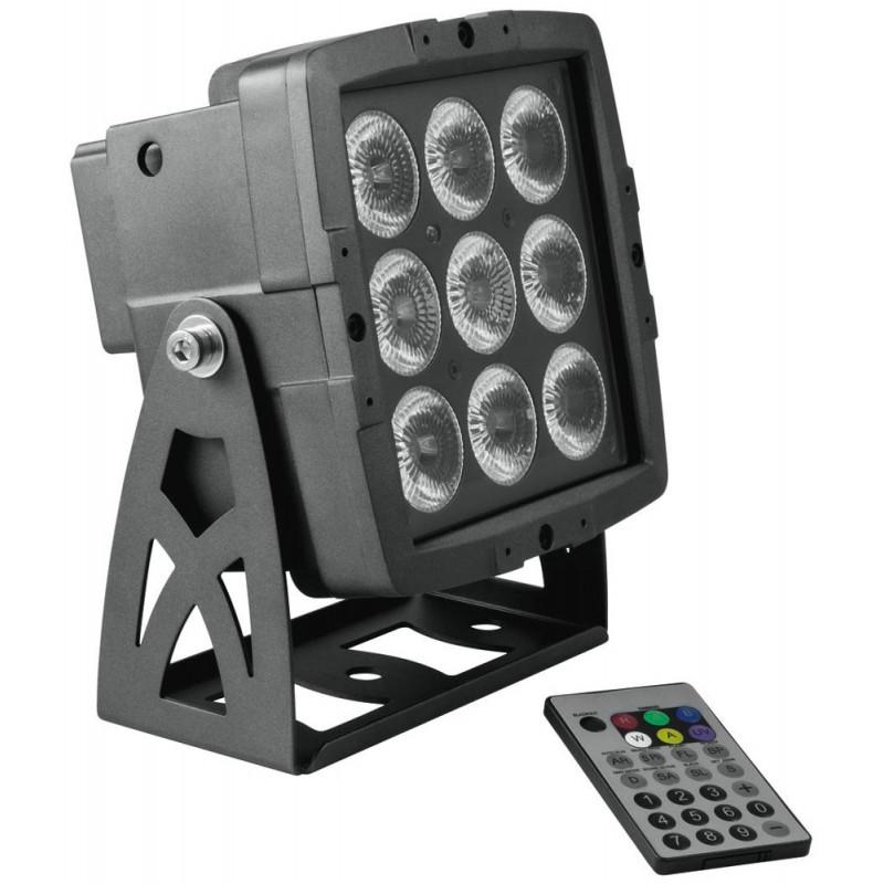 EUROLITE LED IP PAD 9x8W HCL