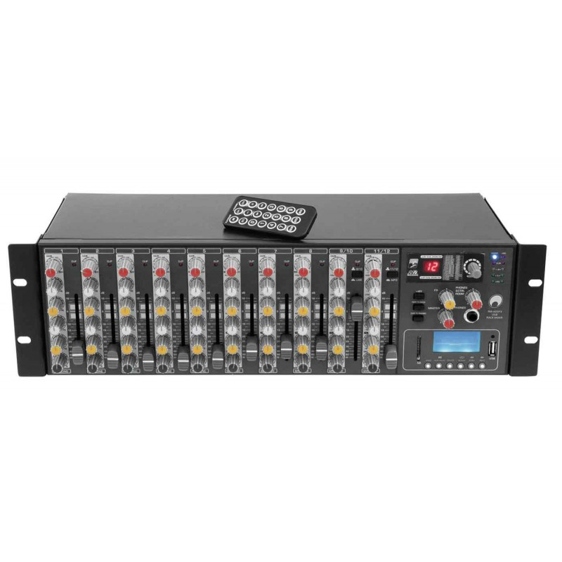 RM-1422FX USB Rack Mixer MP-3