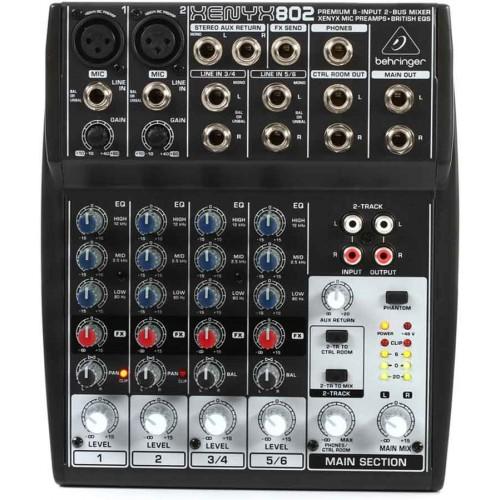 Behringer XENYX 802 Mikser audio