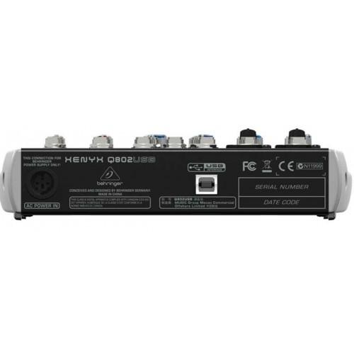 Behringer XENYX Q802USB Mikser audio