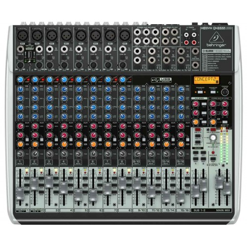 Behringer XENYX QX2222USB Mikser audio z USB