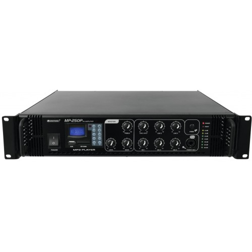 MP-250P wzmacniacz z mikserem 250Wat