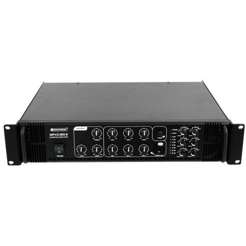 MPVZ-180.6 wzmacniacz PA 6 strefowy