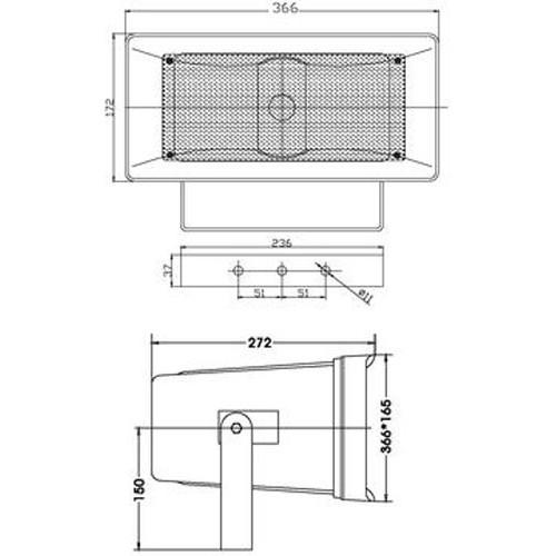 HS-50 Głośnik tubowy