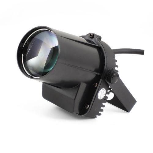 LED PIN SPOT 5W CREE - czarny oświetlacz kuli lustrzanej