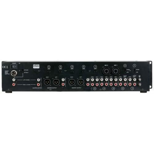 DAP-Audio IMIX-7.1 7 kanałów 3 strefy