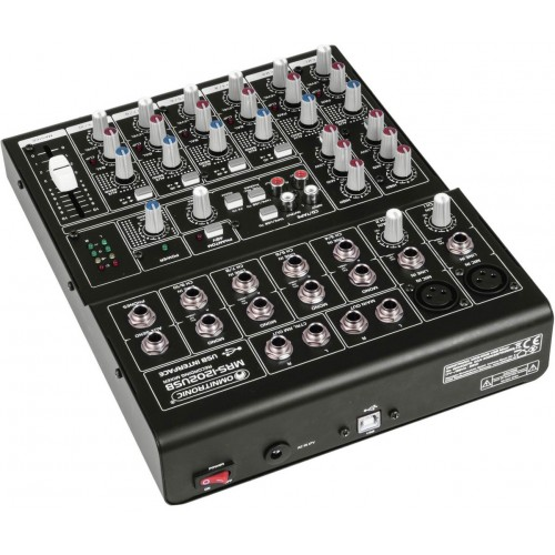 OMNITRONIC MRS-1202USB Recording Mixer