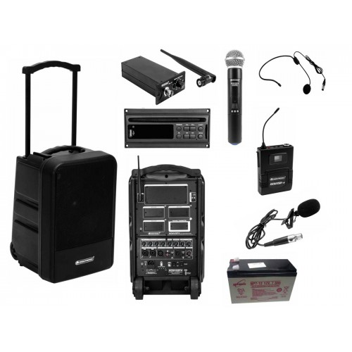 MOM-10BT4 Modular Wireless PA System