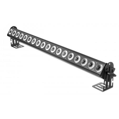 LED WASHER 18x10W RGBW 4w1 45°-3 SEKCJE Mk2 profesjonalny LED BAR