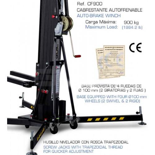 GUIL ULK-400  200kg 5m Front Load Lifting Tower wieża do systemów nagłosnienia Line Array