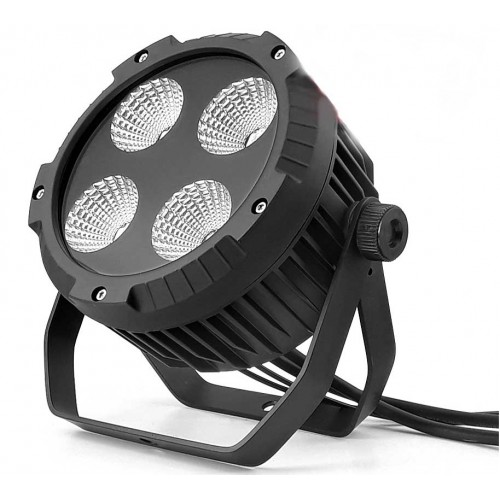 LED PAR 64 4x30W 4w1 COB RGBW Alu Cast -IP65- Mk2 Reflektor LED do oswietlania architektury odporny na warunki atmosferyczne