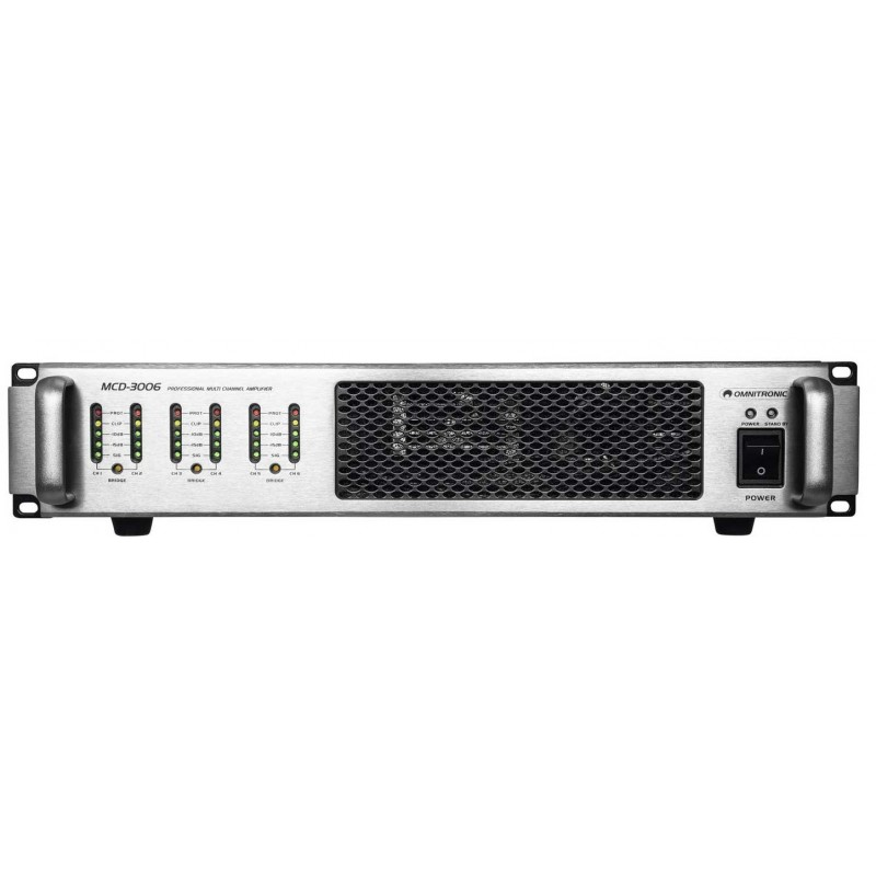 OMNITRONIC MCD-3006 6-Channel Amplifier