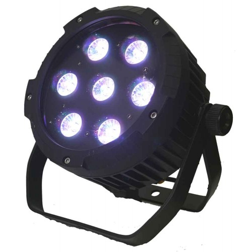 LED PAR 64 7x10W RGBW Alu Cast -IP65- Mk2