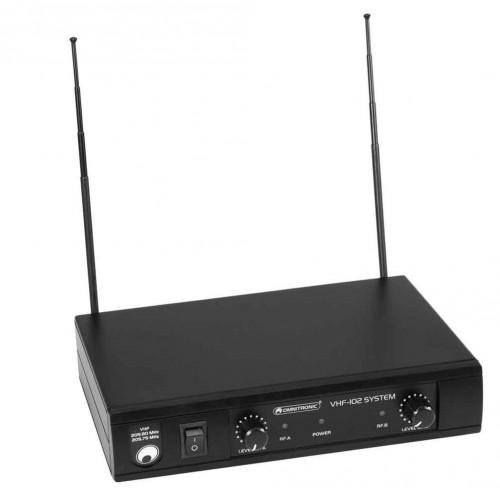 OMNITRONIC VHF-102 Wireless Mic System 212.35/200.10MHz
