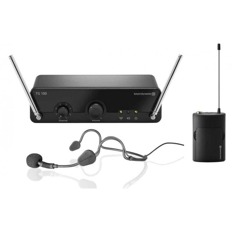 Beyerdynamic TG 100 BELTPACK zestaw bezprzewodowy z mikrofonem nagłownym