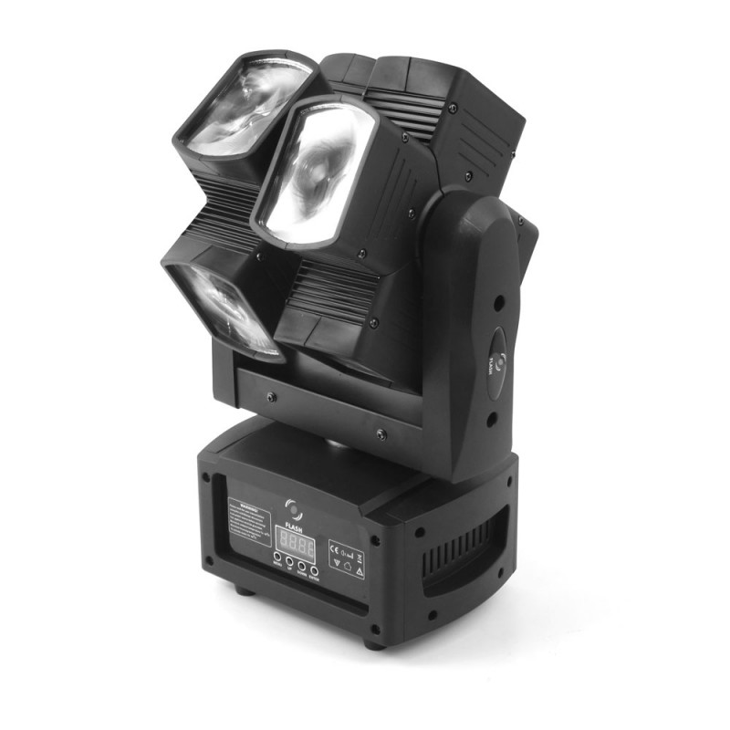 LED MOVING HEAD DOUBLE X 200 8x25W
