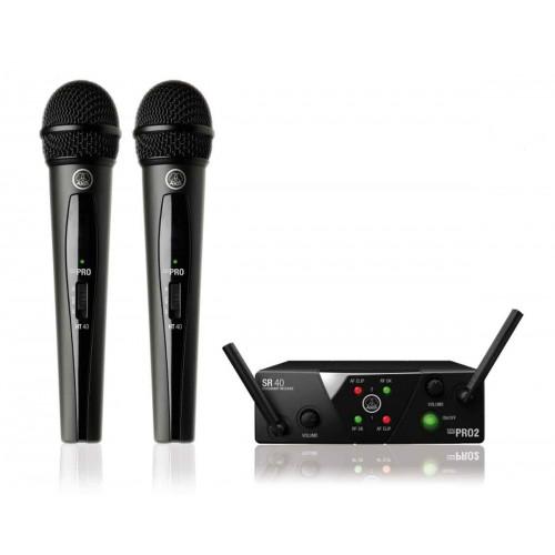 WMS-40 MINI 2 DUAL Vocal Set US25 A/C system bezprzewodowy