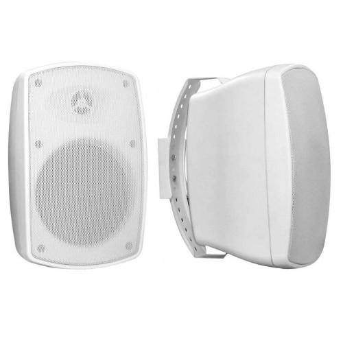 OMNITRONIC Głośnik ścienny OD-5T 100 V biały 2x