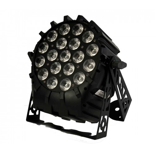LED PAR 64 19x10W 4in1 RGBW 4 Sections Short