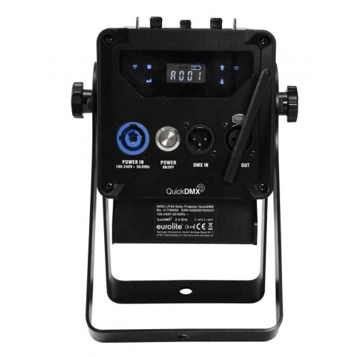 EUROLITE AKKU LP-20 Gobo Projektor QuickDMX