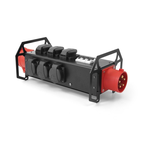POWER BOX BAR 9x 16A 230V