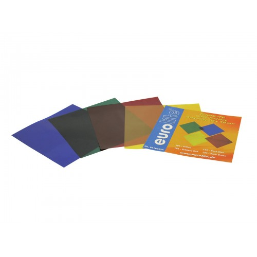 EUROLITE Color-Foil Set 19x19cm 4 kolory