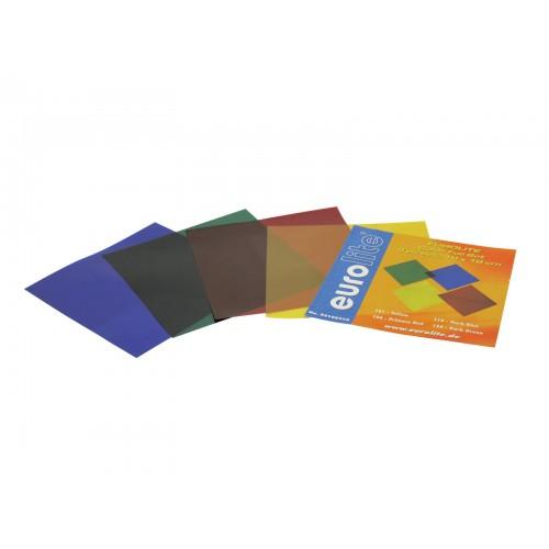 EUROLITE Color-Foil Set 19x19cm 4 kolory