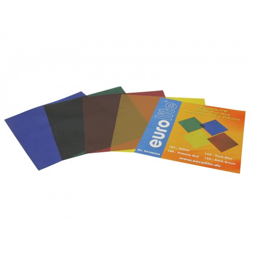 EUROLITE Color-Foil Set 24x24cm 4 kolory