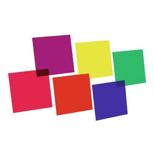 EUROLITE Color-Foil Set 24x24cm 6 kolorów