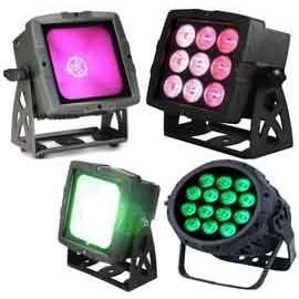 Oświetlacze LED Multicolor